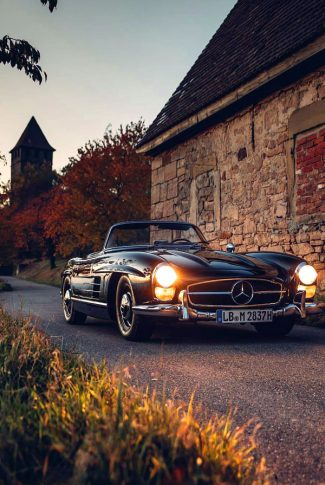 Whether you cover an entire room or a single wall, wallpaper will update your space and tie your home's look. Download Vintage Mercedes Benz Car Wallpaper Cellularnews