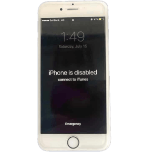iPhone Disabled Repair