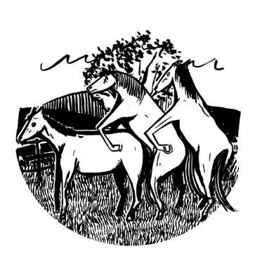 threesome HORSE