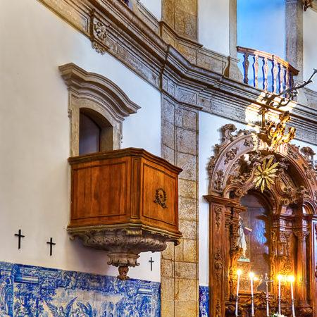Igreja da Glória, Rio de Janeiro, Brazil.