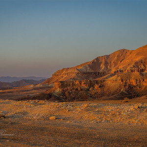 The Desert of Negev, Israel