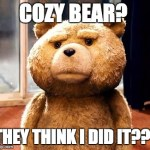 Russian Hacking from Cozy Bear
