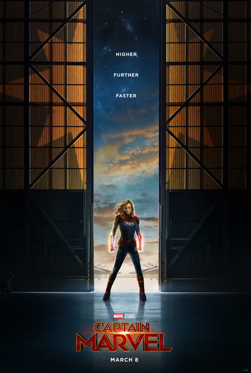 Captain Marvel Standing in Door