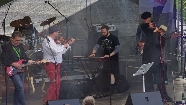 Connemara Stone Company beim Keltic Festival auf Schloss Hohenlimburg (2015)
