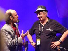 Carlos Nunez mit Franz Koroknay