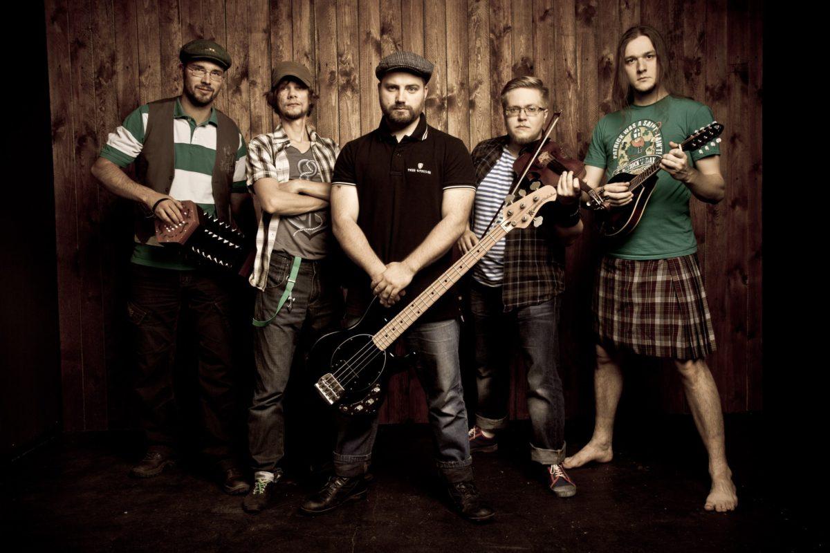 Shamrocks Bandfoto