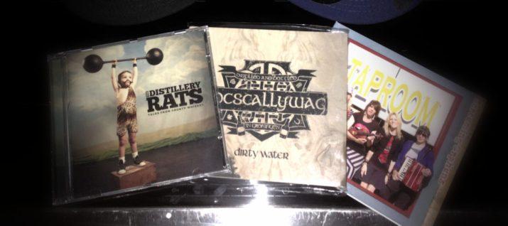 CDs für die Verlosung