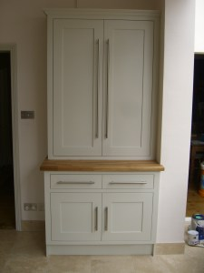 Full height Double Shaker Style Cupboard for Office or Kitchen, copyright Celtica Kitchens 2015