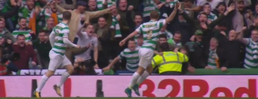 The Bhoy of the Match vs The Rangers is……