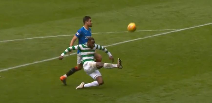 Celtic Hoist The Rangers By Their Own Petard