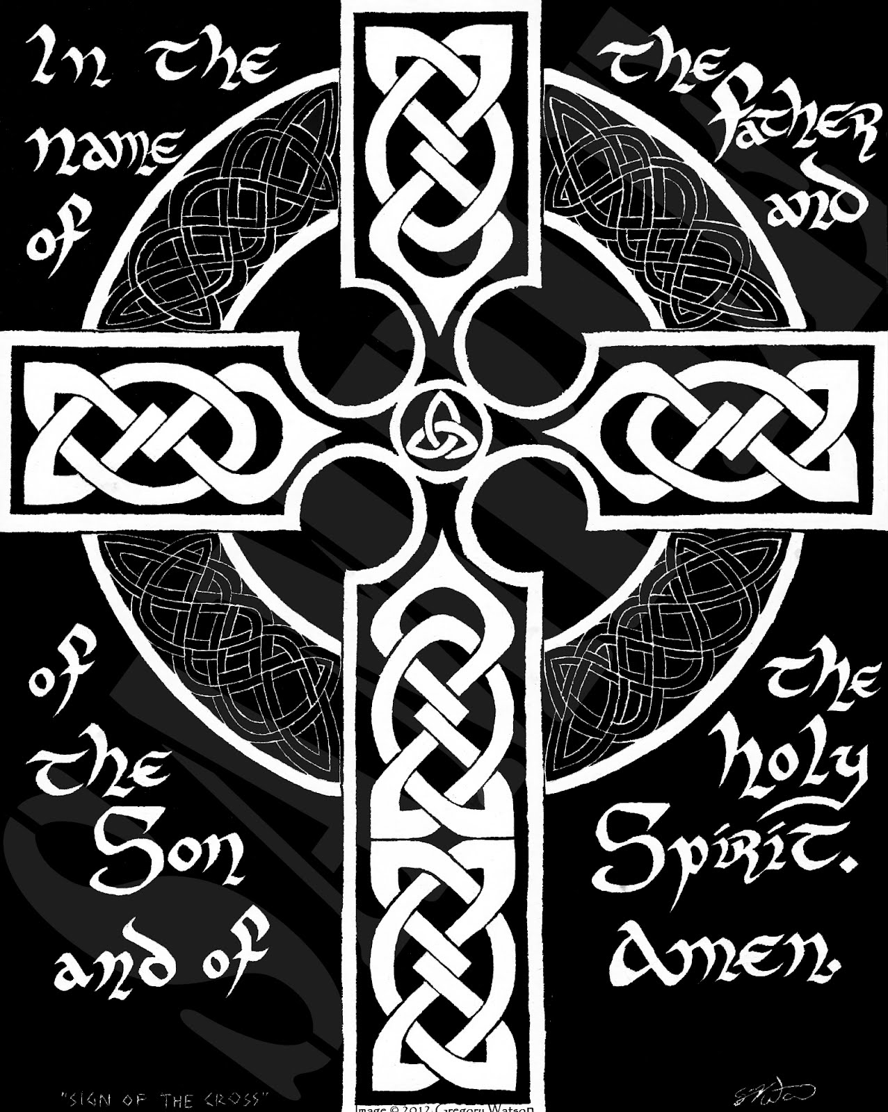 Why Should I Make The Sign Of The Cross Celtic Cross