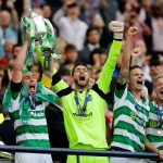 Scott Brown and Craig Gordon With Scottish Cup