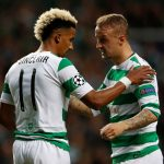 Scott Sinclair talks with Leigh Griffiths