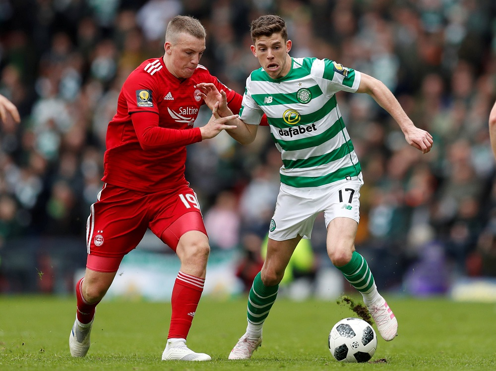 Brown Lavishes Praise On Celtic Playmaker Comparing Him Favourably To £80m Rated United Target
