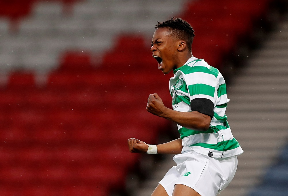 'Get Him In The 1st team!!' First Of Many' Fans Hail Celtic Teenager After He Scores His First Senior Goal Against Hibs