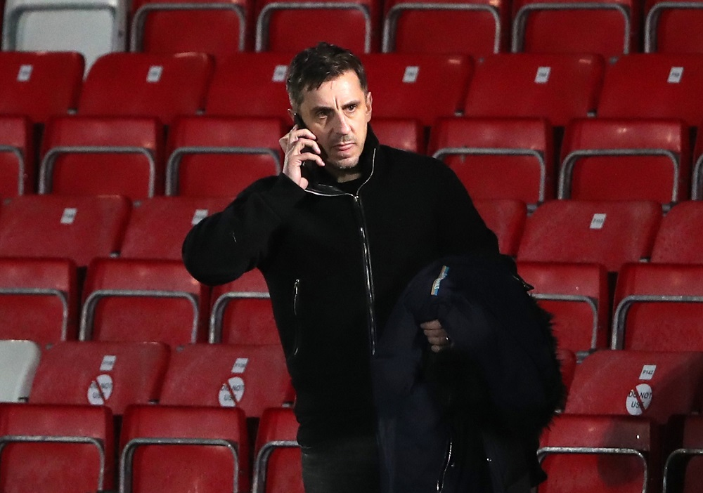 """""""He Can Get Stuffed"""" Brazil Slams Gary Neville After Comments He Made About Celtic Park And Ibrox"""