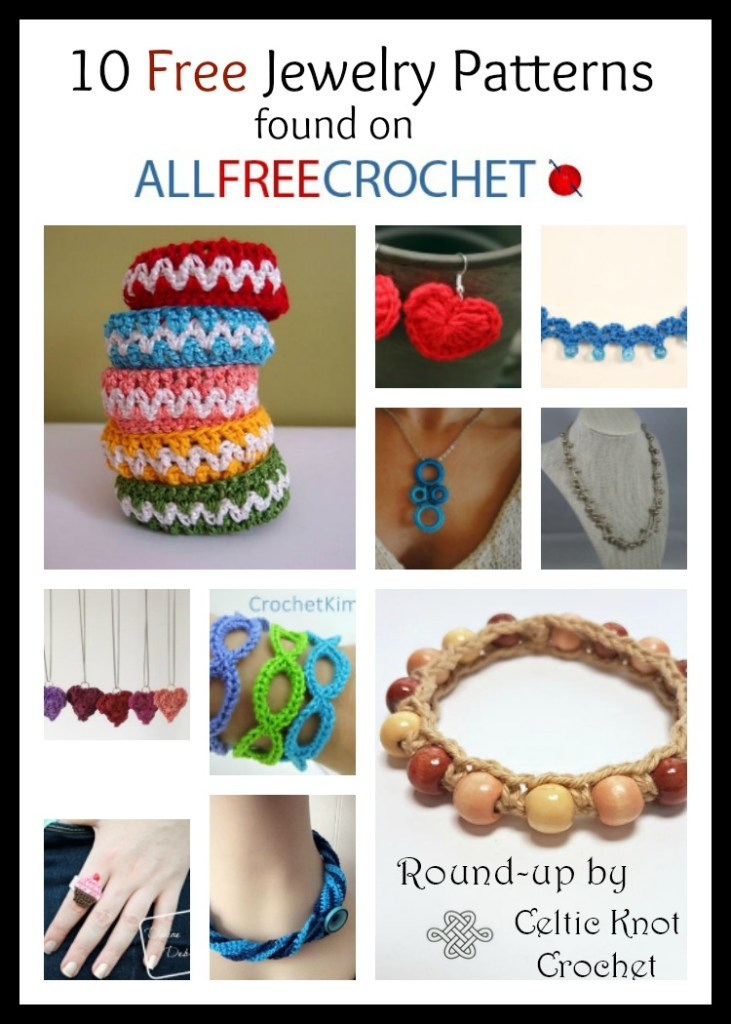 10 Free Crochet Jewelry Patterns Celtic Knot Crochet