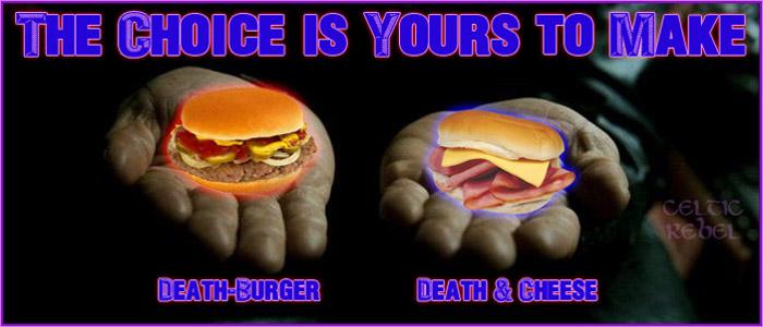 you choose death