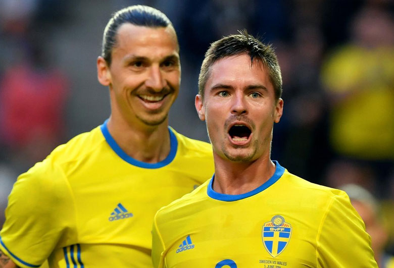 VIDEO – Lustig's Hilarious Celebration as Sweden Book World Cup Place