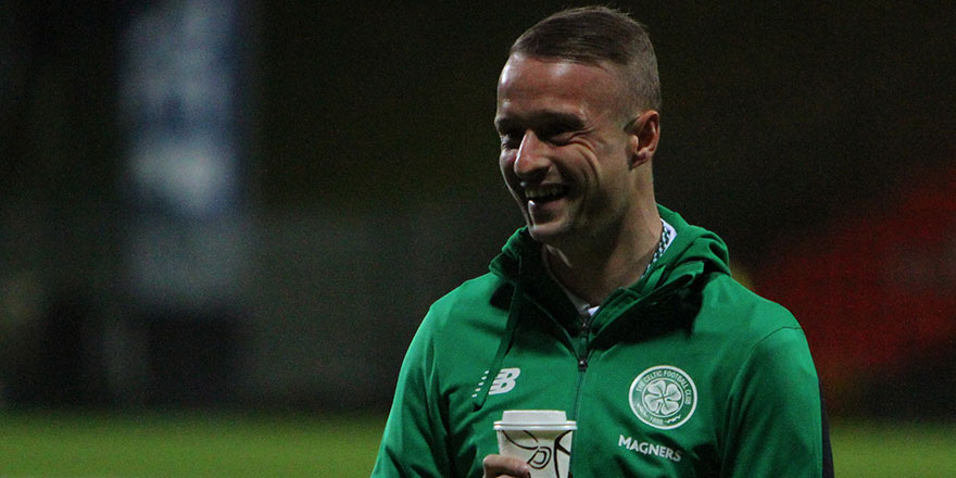 Leigh Griffiths Pokes Fun at Ibrox Flag Waving