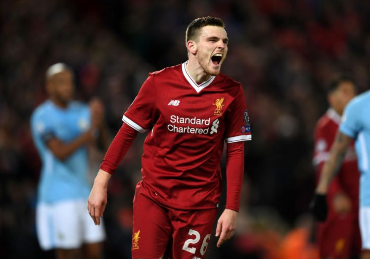 Liverpool Star Andy Robertson Reveals Celtic Coach Who Ended Parkhead Career