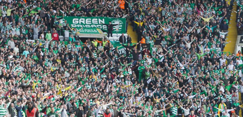 Watch - Celtic's Newest Hero Parties With Green Brigade