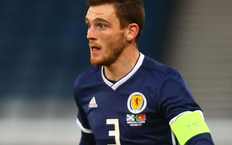 Andy Robertson in Disbelief After Hearing Celtic Star Celebrating