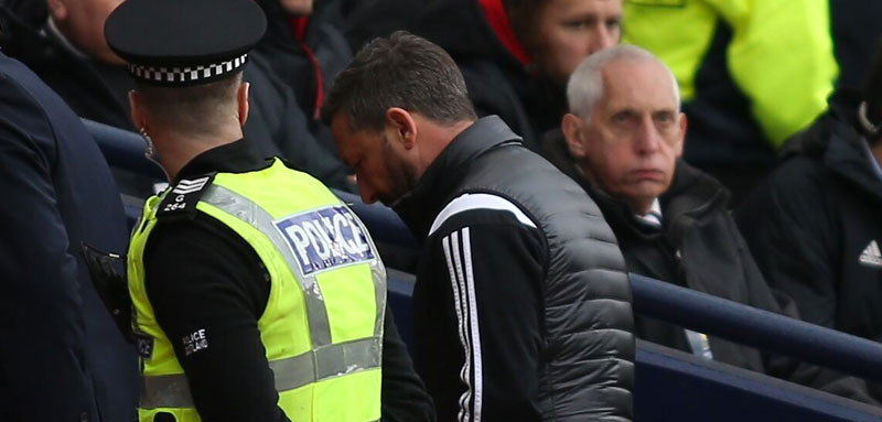 Derek McInnes Hampden U-Turn on Celtic Fan Charge