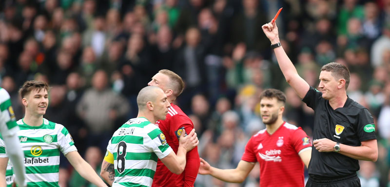 Ferguson Makes Celtic Admission After Horror Tackle