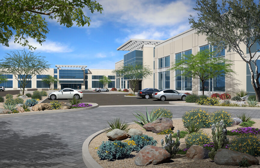 Douglas Allred Company Breaks Ground on 100,622 SF Office Building in Chandler