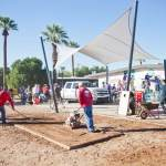 VALLEY PARTNERSHIP'S 2014 COMMUNITY PROJECT TRANSFORMS GROUNDS AT ARIZONA FOUNDATION FOR THE HANDICAPPED WITH MORE THAN 200 VOLUNTEERS