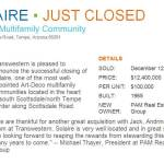 Transwestern is pleased to announce closing of Solaire Multifamily Community
