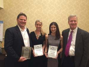 NAIOP Arizona representatives (l to r) Tom Johnston, Megan Creecy-Herman, Molly Ryan Carson, and Tim Lawless.