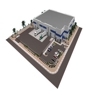 DC Logistics Rendering