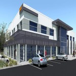 Former Bally Total Fitness Redeveloped for Office Use