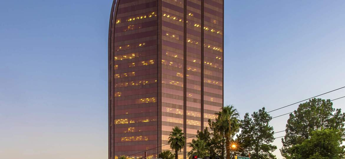 Trophy High Rise in Phoenix's Central Corridor Sells for $80.7 Million