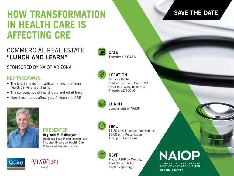 Lunch & Learn: How Transformation in Healthcare is Affecting CRE |