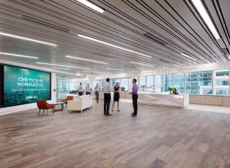CBRE's Phoenix Workplace360 Office Achieves LEED Gold Certification