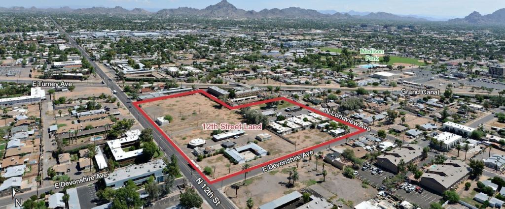 NAI Horizon Negotiates $7 Million Sale of Largest Multifamily-Zoned Private Land Holding in Central Phoenix