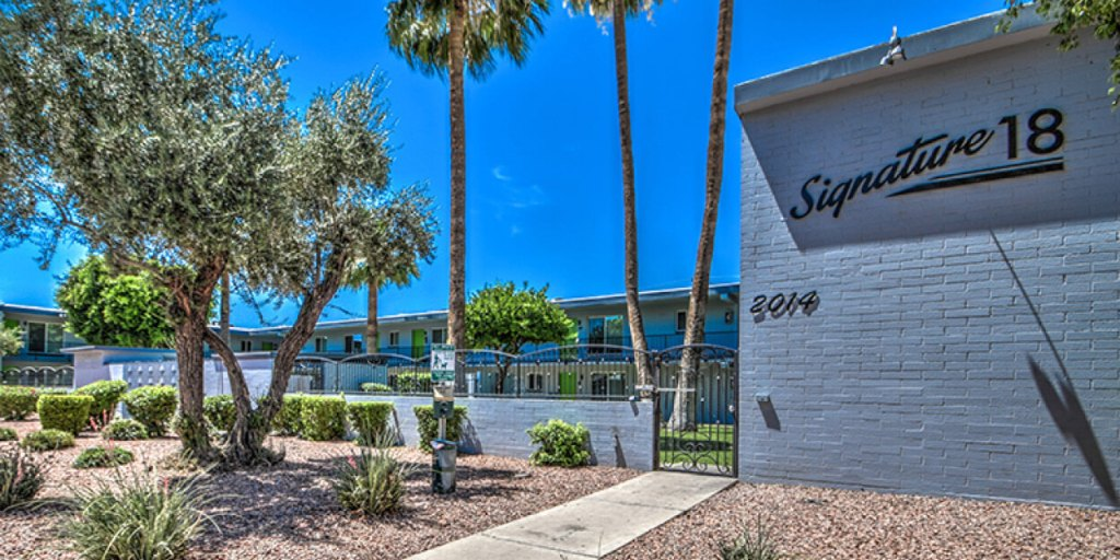 CBRE Completes $6.9 Million Sale of Two Central Phoenix-Area Multifamily Communities