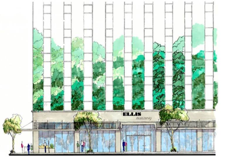 First Tenant Announced for Ellis Building Project