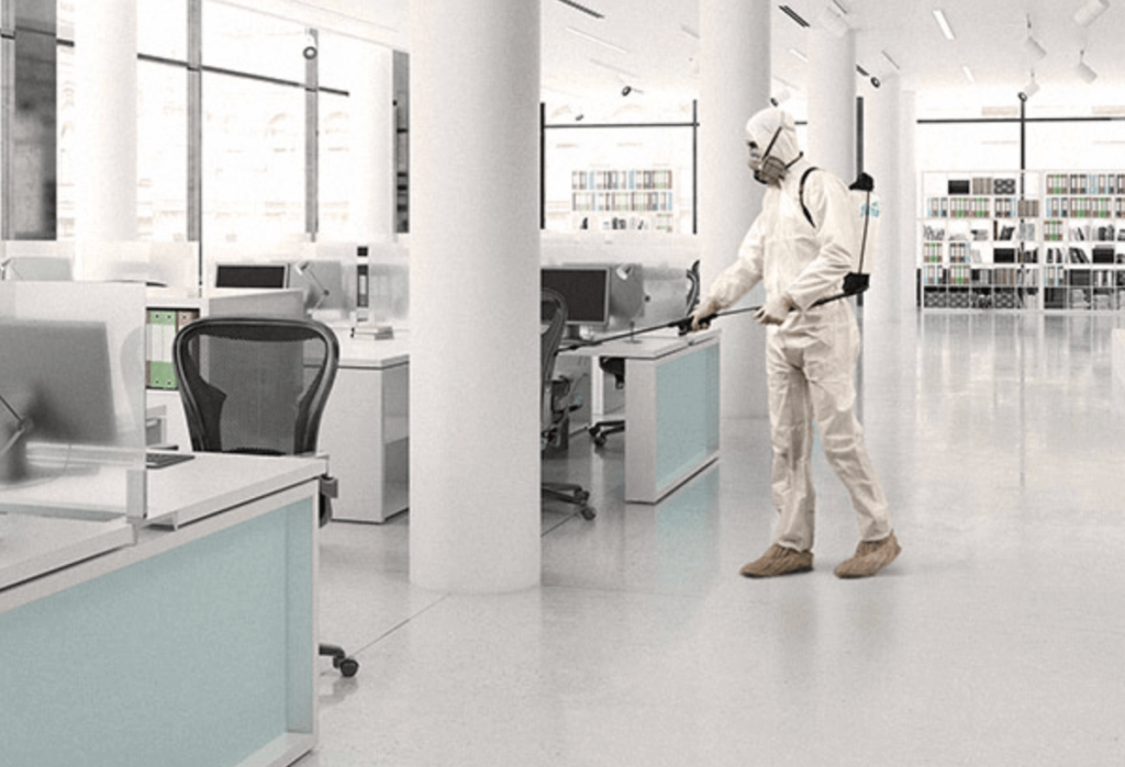 As Workplaces Begin to Reopen, Demand for Commercial Cleaning & Disinfecting Services Increases