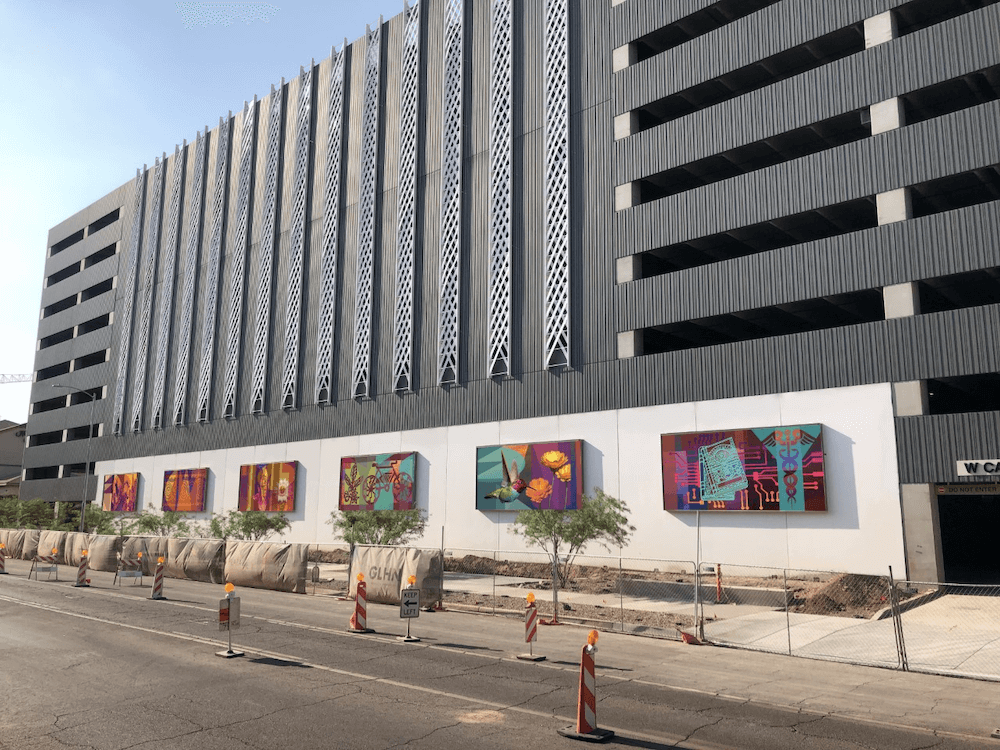 Artists Chosen to Create Significant New Murals At Park Central's Catalina Parking Garage