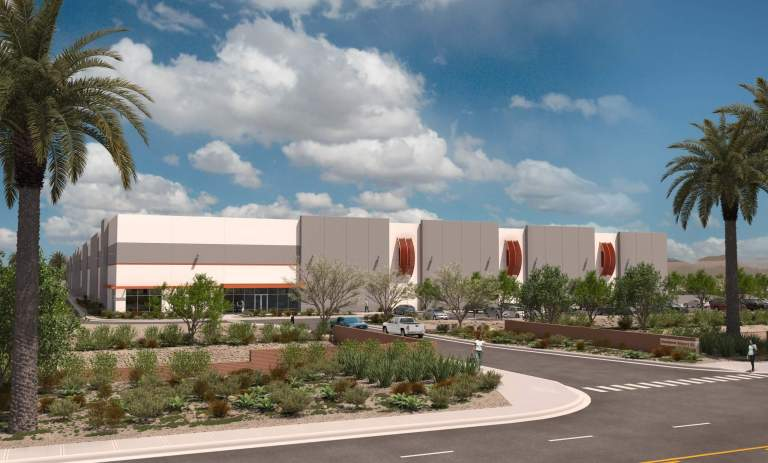 The Opus Group® Begins Construction on a Speculative Industrial Development in Goodyear