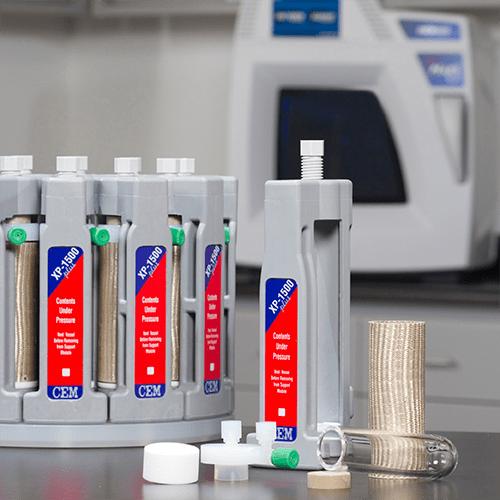 microwave digestion system vessels