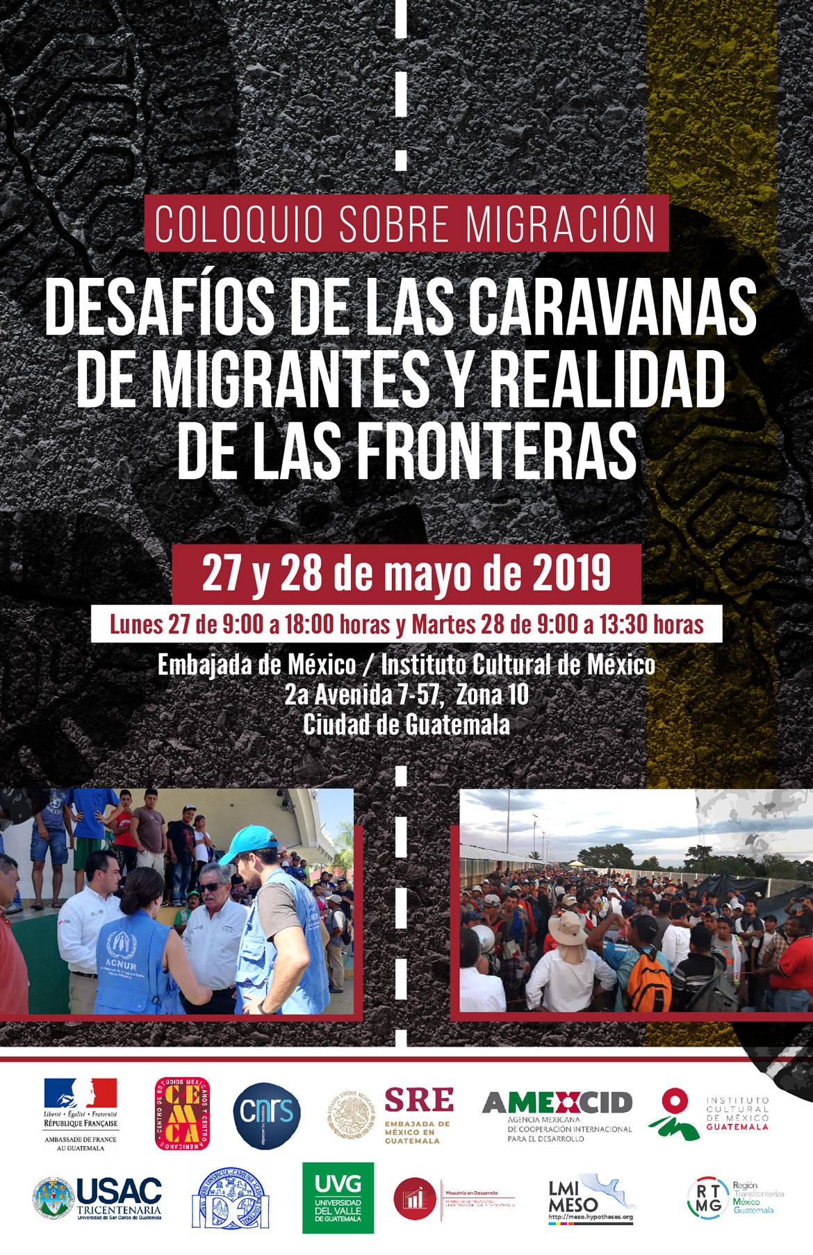 [27 y 28 mayo] Coloquio sobre migración: «Desafíos de las caravanas de migrantes y realidad de las fronteras»