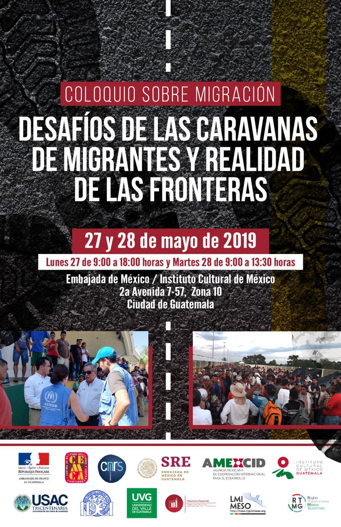 Cartel Coloquio sobre migración