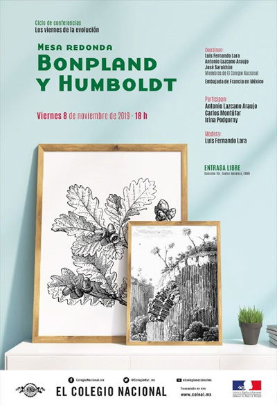 "Mesa redonda: ""Bonpland y Humboldt"""