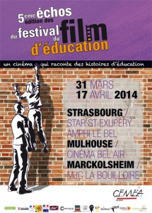 Affiche Echos du Festival du Film d'Education - 2014