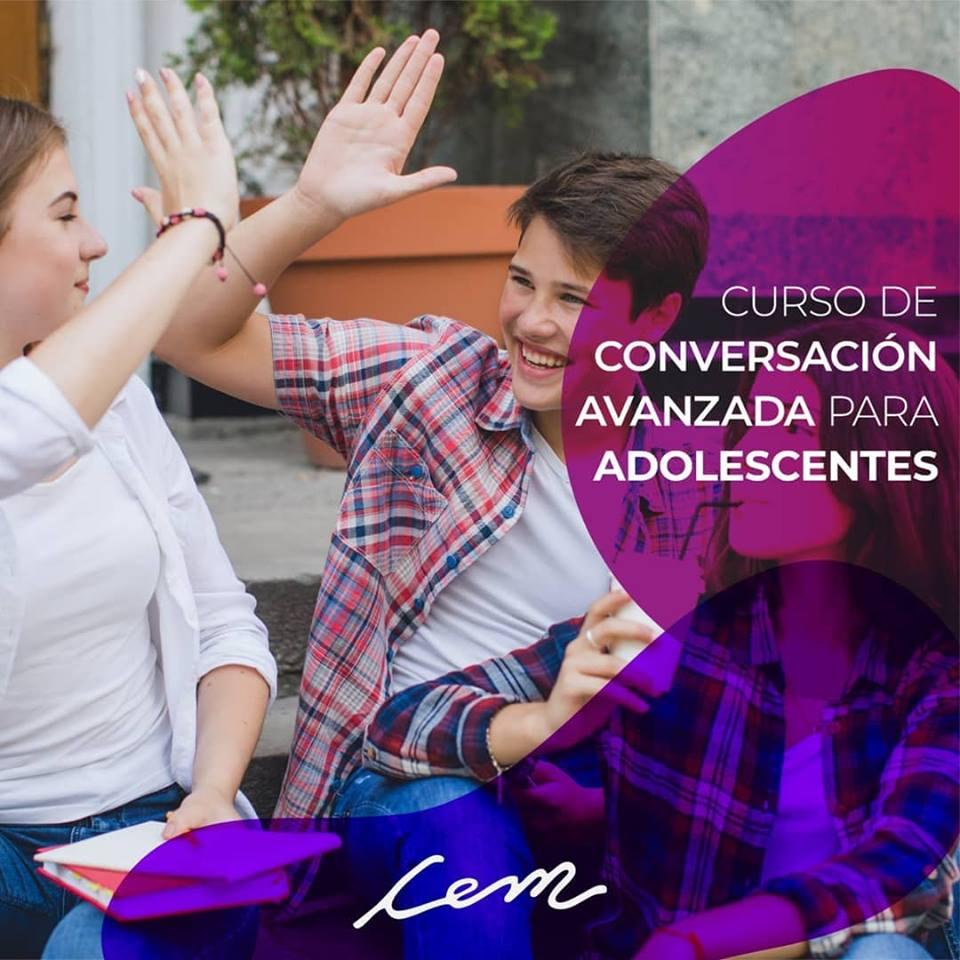 Curso de conversación avanzada para adolescentes